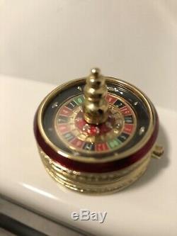 Estee Lauder Solid Perfume Roulette Wheel- RARE- 2002