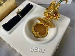 Estee Lauder Sparkling Mermaid Solid Perfume Compact 2000 Original Box
