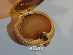 Estee Lauder Sparkling Mermaid Solid Perfume Compact Pleasures 2000