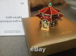 Estee Lauder Strongwater ENCHANTING PAGODA Solid Perfume Compact 2005