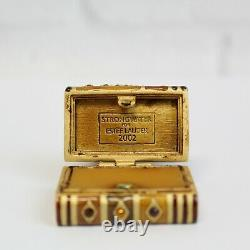 Estee Lauder Strongwater Romantic Edition 2002 Solid Perfume Compact MIBB