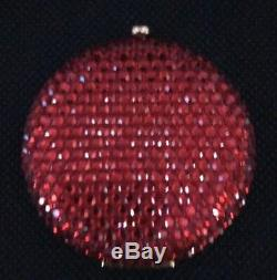 Estee Lauder Swarovski Crystal Red Lucidity Compact Katherine Baumann