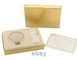 Estee Lauder The Wedding Day Powder Compact Vintage Unused Collectible Rare
