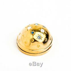 Estee Lauder Twinkling Sky Solid Perfume Compact Tuberose Gardenia Private