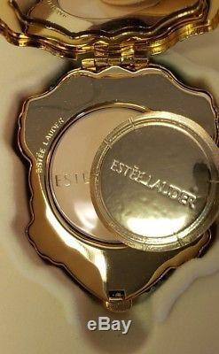 Estee Lauder Twinkling Toad pressed powder compact nib never used