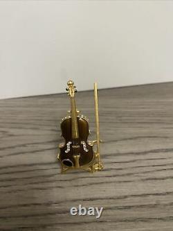 Estee Lauder Violin Youth Dew Solid Perfume Compact BOX