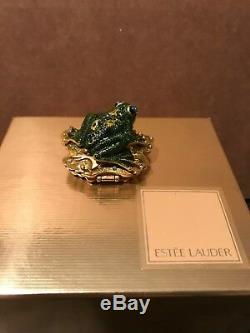 Estee Lauder White Linen 2002 Prince Charming Perfume Compact Jay Strongwater
