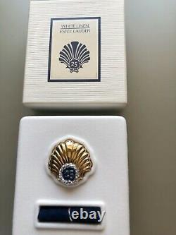 Estee Lauder White Linen 25 Year Shell Perfume Compact