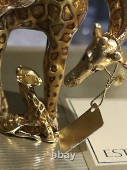 Estee Lauder Youth Dew 2002 Gilded Giraffe Perfume Compact New In Box
