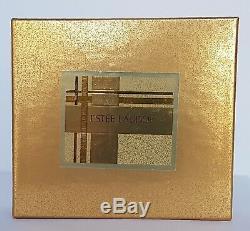 Estee Lauder Youth Dew GILDED GIRAFFE Solid Perfume Compact NIB 2002