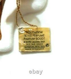Estee Lauder Youth Dew Gilded Giraffe Solid Perfume Compact 2002.02 Oz