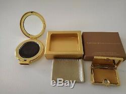 Estee Lauder solid perfume compact + powder Sammlung /Konvolut 26 Stk. 1998-2014