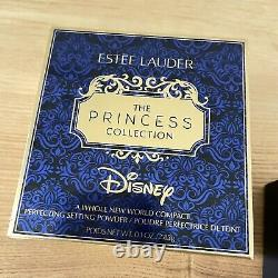 Estee Lauder x Disney Aladdin A Whole New World Powder Compact New In Box