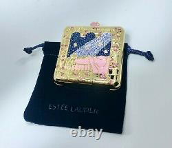 Estee Lauder x Disney Dreams Come True Powder Compact by Monica 0.24OZ