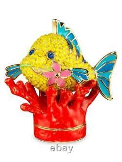 Estee Lauder x Disney Pleasures Under The Sea Perfume Compact By Monica NIB