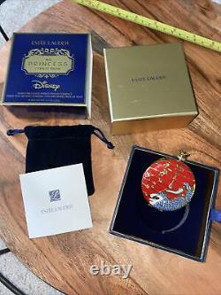 Estee Lauder x Disney When The Clock Strikes Twelve Powder Compact By Monica NIB