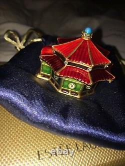 Estee lauder, Jay strongwater Enchanting pagoda solid perfume compact
