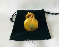 FULL/UNUSED 1998 Estee Lauder PLEASURES BIRDCAGE Solid Perfume Compact