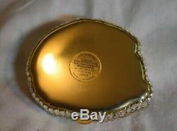 JG-095 Estee Lauder Crystal Rabbit Bunny Judith Leiber Powder Compact New in Box