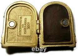 Jay Strongwater for Estee Lauder JUKEBOX with White Linen Perfume Compact Unused