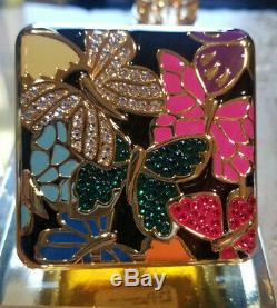 Limtd New 2019 Estee Lauder Solid Perfume Powder Compact Butterfly Dance MIBB