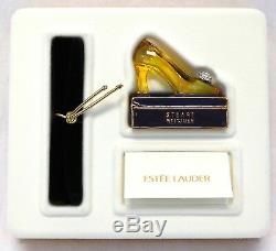 NIB Estee Lauder Beautiful Princess Pump Perfume Compact 2001, Stuart Weitzman
