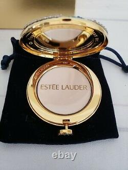 NIB Estee Lauder Celestial Dreams Powder Compact Monica Rich Kosann 0.1oz #05
