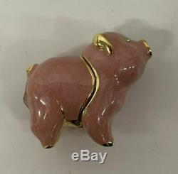 NIB FULL 1998 Estee Lauder BEAUTIFUL BEAUTIFUL PIG COMPACT Solid Perfume
