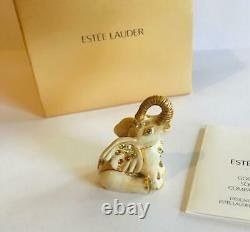 NIB FULL 2011 Estee Lauder/JAY STRONGWATER LUCK ELEPHANT Solid Perfume Compact