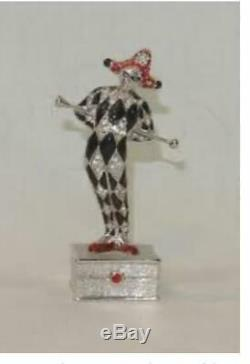 NIB FULL/UNUSED 1998 Estee Lauder PLEASURES JESTER Solid Perfume Compact