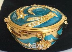 Nib 2012 Estee Lauder Strongwater Sensuous Nude Celestial Charms Perfume Compact