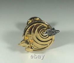PROTOTYPE 2001 Estee Lauder PLEASURES BIRDBATH Solid Perfume Compact WithPOUCH