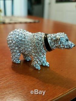 PROTOTYPE Estee Lauder Solid Perfume Compact Polar Bear LOOK