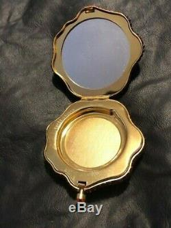 Pre-owned Estee Lauder 2004 Lucidity Powder Prismatic Flower Crystal Compact