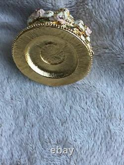 Rare Estee Lauder Beautiful Party Cake Solid Perfume Compact Boxed