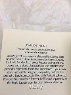SALE Estee Lauder Limited Edition Jeweled Starfish Compact NIB