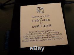 Superb Estee Lauder Powder Compact Crystal Dreams By Judith Leiber