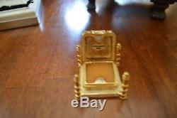 Taj Mahal Estee Lauder Solid Perfume Compact w Perfume Both Boxes