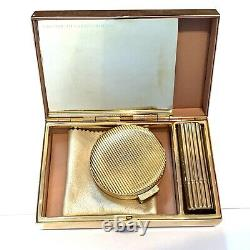 Tom Ford Estee Lauder Limited Edition Minaudiere Gold Lipstick Compact Set