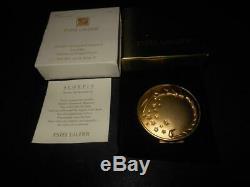 Vintage Estee Lauder Golden Scorpio Compact Lucidity Pressed Powder