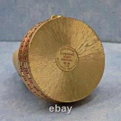 Vintage Estee Lauder Imperial Princess Ivory Series Perfume Solid Compact