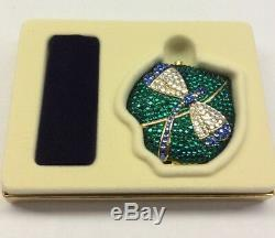 Vintage Estee Lauder Lucidity Powder Dragonfly Compact New In Box