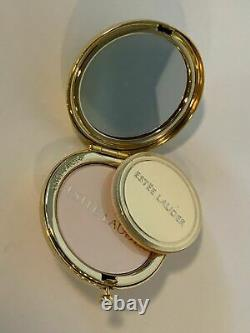 Vintage Estee Lauder The Attitude Mood Changing Gold Tone Compact With Powder