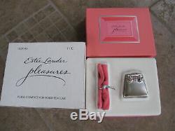 WOW BNIB 1997 Estee Lauder PURSE Compact Pleasures Solid Perfume