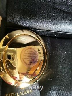 18k Gold Estee Lauder Audemars Piguet Nacre Compact Rare Promesse