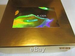 2000 Estee Lauder Émaillé Jolie Parasol Solide En Lin Blanc Parfum Compact