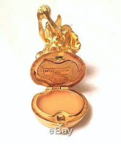 2000 Estée Lauder Mousseux Sirène Box Signe Parfum Solide Compact