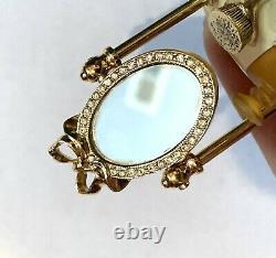 2000 Estee Lauder Vanité Avec Mirror Beau Parfum Solide Compact