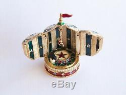 2001 Estee Lauder Chapiteau De Cirque Compacte De Collection De Parfum Solide
