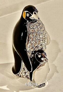 2001 Estee Lauder Parfum Compact White Linen Penguin